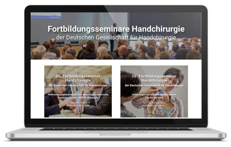 Intercongress Handseminare-DGH