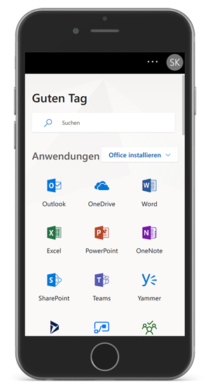 Office365 Smartphone